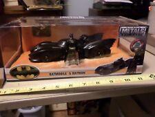 New DC Metals Batmobile Car & Batman figure 1:24 Scale Die-cast Jada Toy 2017