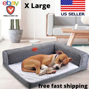 Orthopedic Dog Bed Washable Large Waterproof For Deluxe Cushion Sofa Soft SALE!