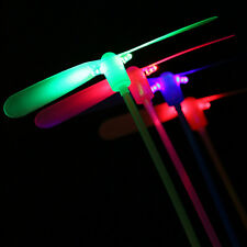 3X Dragonfly Flying Led Spinning Light-up Traditional Colorful Children Toys