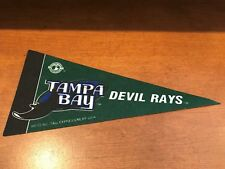 "Tampa Bay Devil Rays BASEBALL FELT PENNANT! FREE SHIPPING! 9"" LONG! PENNANTS!"
