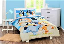 Bluey Family Quilt Cover Set Single Bed Reversible Duvet Doona
