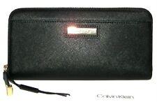 8583533314 Calvin Klein Leather Clutch Wallets Zip-Around Women's for sale | eBay