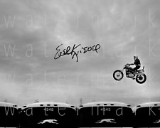 Evel Knievel signed 8x10 rp photo picture poster autograph
