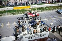 1958 MEADOWDALE INTERNATIONAL RACEWAY PHOTO AUTO RACING SCCA SPORT CAR CORVETTE