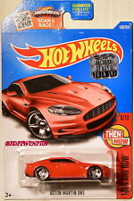HOT WHEELS 2016 THEN AND NOW ASTON MARTIN DBS #6/10 RED FACTORY SEALED