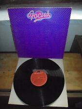 """Focus """"In And Out Of Focus"""" LP  Polydor – 2310 085 A ITA 1973 - GATEFOLD"""