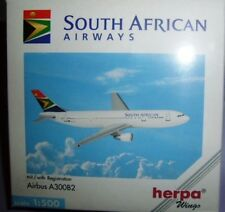 AIRBUS A300B2 SOUTH AFRICAN AIRWAYS scala 1/500 HERPA (501934)