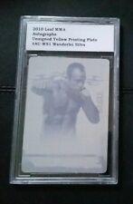 #1/1 Wanderlei Silva Printing Plate Card Encased 2010 Leaf MMA UFC Brazil