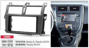 Car Stereo Radio Fascia Facia Panel for TOYOTA Verso-S,Ractis 2010+ CARAV 11-172