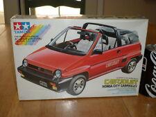 HONDA CITY CABRIOLET, SPORT CAR, TAMIYA Plastic Model Car Kit ,Scale 1/24