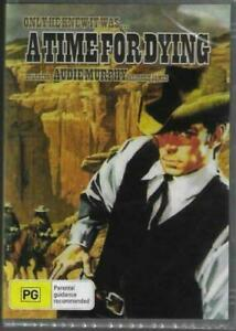 A Time For Dying DVD Audie Murphy Brand New and Sealed Australian Release