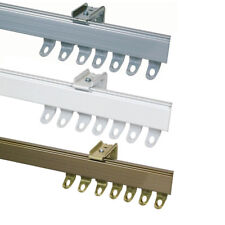 Fineline ALUMINIUM CURTAIN TRACK Suitable for Straight or Bay Windows + Fittings