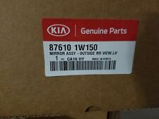 New Genuine OEM Kia 87610 1W150 Outside RR View LH Mirror Assembly