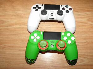 2 ps4 controllers sony and infinity