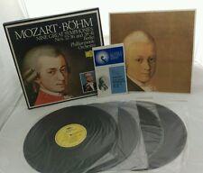 Mozart, Bohm: Nine Great Symphonies 4xLP Box Set with Libretto - 2864 190