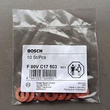 BOSCH washer / shim common rail injector CDI CRD HDI CDTI JTD F 00V C17 503 10pc