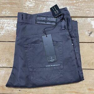 "BNWT Stone Island Denims Grey Trousers Chino 33"" Deadstock"