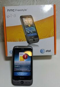 HTC Freestyle F5151 Smartphone for AT&T, Black/Gray, 256 MB, Tested No Sim Card