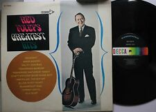 Country Lp Red Foley Greatest Hits On Decca