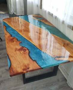 Epoxy Table, dining, sofa, centre table top office Table, Custom Order Table Top