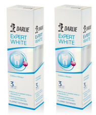 2 x 120 g. DARLIE Expert White Toothpaste Anti Stain Whitening Teeth in 3 Times