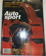 Canada Auto Sport Magazine Street Smarts May 1981 022615r2