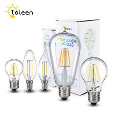 Retro E27 E14 8W 12W Edison Filament Bulb LED Light Candle/Flame Lamp 110V/220V