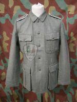 Uniforme tedesca giacca Feldbluse M40, German army WW2 wool field tunic jacket