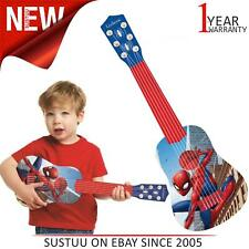 Lexibook K200SP Kid's Spider-Man My First Guitar|6 Nylon String|Red-Blue|NEW