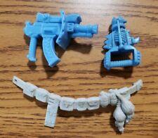 TMNT Triceraron Vintage Weapons Lot Teenage Mutant Ninja Turtles