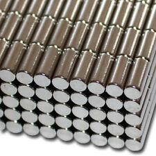 10 NEODYM STAB MAGNETE RUND D5x12 mm 1,2 KG ZYLINDER N50 BASTELN PINNWAND BÜRO