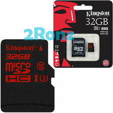 Kingston U3 32GB 32G Micro SDHC TF Flash Card UHS-I Mobile SD 4K SDCA3 90R/80W