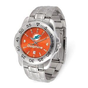 NFL Miami Dolphins gents Sport Steel Watch Style: XWM3533 $87.90
