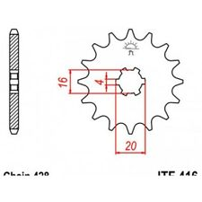 Pignon acier 14 dents jt chaîne 428 suzuki rm65/rm85 Jt sprockets JTF416.14