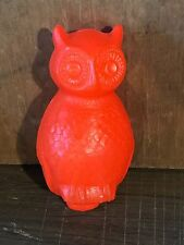 Vintage Blow Mold Owl Union Products Halloween Unused