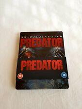 Predator Steelbook Blu-ray UK import PLAY.COM OOP sealed
