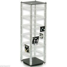 """Revolving Earring Display Stand Holds 48 2"""" cards"""