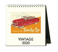 Cavallini - 2020 Tischkalender - 15.2x16.5cm - Vintage