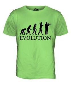 TRUMPET PLAYER EVOLUTION OF MAN MENS T-SHIRT TEE TOP GIFT MUSICIAN