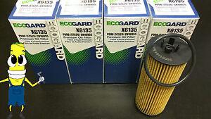 Premium Oil Filter for Dodge Grand Caravan w/ 3.6L Engine 2011 2012 2013 Pack 4