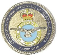 RAF Royal Air Force 1st April 2018 - 100 Years Centenary  Commemorative Coin