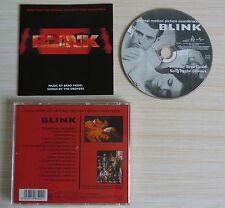 CD ALBUM SOUNDTRACK BOF BLINK 14 TITRES 1994 MUSIQUE DE FILM DE FIEDEL BRAD