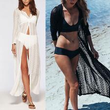 Women Beach Bikini Cover up Long Kaftan dress Summer Boho Maxi Dress Swimwear