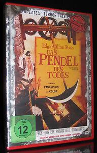DVD DAS PENDEL DES TODES - HORROR CULT - UNCUT - nach EDGAR ALLAN POE ** NEU **
