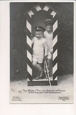 Vintage Postcard Prince Louis Ferdinand,& Prince Wilhelm of Prussia