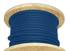 50' 4/0 AWG Welding Cable Blue Flexible Outdoor Wire