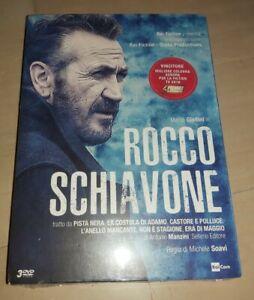 ROCCO SCHIAVONE STAGIONE 1 COMPLETA 3 DVD 6 EPISODI NUOVO E SIGILLATO