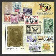 Malaysia 2019 150 Years Sarawak Stamps ~ MS Mint