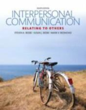 Interpersonal Communication : Relating to Others (P-D-F) file, e-book