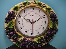 wall clock Grape.Home wine Bar Set fruit new.